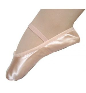 Satin Ballet Shoe-full-sole