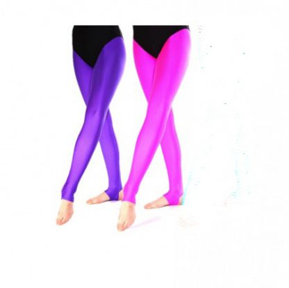 Stirrup tights, many colours