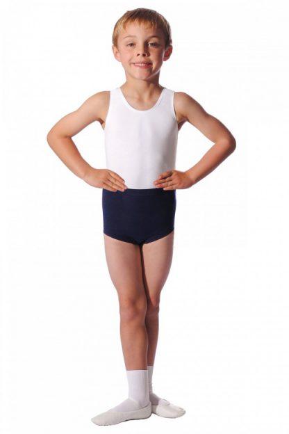 Boy's Slim fit Trunk Style Dance Shorts-5590